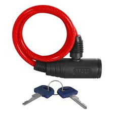 Oxford Motorcycle Bumper Cable Lock Helmet Clothing Security Red OF06 T