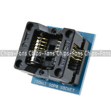 2pcs SOIC8 SOP8 to DIP8 EZ Programmer Adapter Socket Converter module 150mil