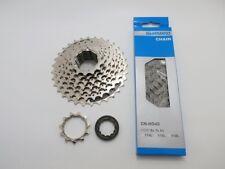 Verschleißset  Kette Shimano HG40 + 8 fach Kassette CS HG 41 11-32Z  (KV)