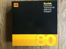 Kodak NOS Slide Tray Carousel Transvue 80 Projector New in Box Dated 1990
