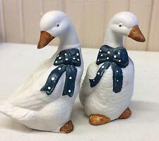 Art Marx White Ducks Salt And Pepper Set