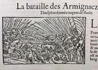 Armagnacs 1575 Bataille de la Birse Suisse Concile de Bâle Genève Le Coran Islam