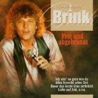 """BERNHARD BRINK """"FREI UND ABGEBRANNT""""  CD NEW"""