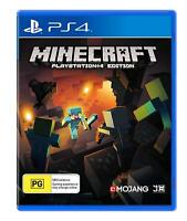 Minecraft Playstation Edition Crafting Adventure Creative Game For Sony PS4 4