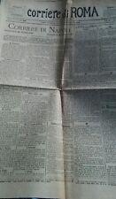 1887 Corriere di Roma ultima stampa