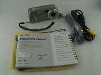 Sony Cyber-shot DSC-P92 5.0MP 3x Zoom Silver Digital CAMERA, Excellent Working!