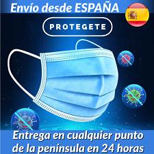 QUIRURGICA 3 CAPAS de alta CALIDAD - 10 UNIDADES - Envío desde ESPAÑA - 24 horas
