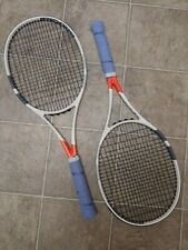 BABOLAT Pure Strike 18 x 20 MATCHED pair, 2 rackets, 4 1/4, rpm blast