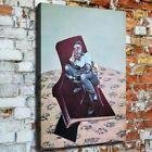 "36x24"" Francis Bacon ""Three Studies for Portrait"" HD canvas print surreal art"