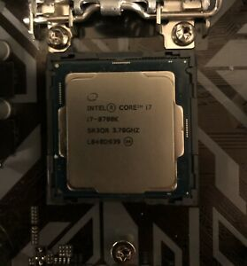 Intel Core i7 8700K 3.70 GHz Hexa-Core (BX80684I78700K) Processor *Lightly Used*