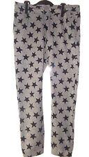 Pantalon Training Carrot Gris motif étoile Noir taille lien H&M taille 9 10 ANS