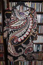 ZARA Paisley knit T Shirt Dress Ladies sz M 28 (b152)