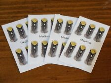 Imitation Jungle Cock Eyes for Fly Tying - Size Medium / 24 per pack