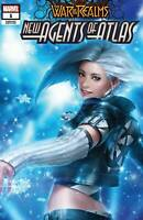 WAR OF REALMS NEW AGENTS OF ATLAS #1 LUNA SNOW 2ND PRINT VARIANT AERO 1ST WAVE