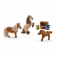 "41432-""Mini Shetty Familie""-""Miniature Shetland pony family""#Schleich-Pferde"