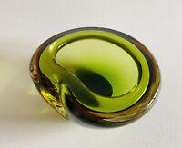 🔴 portacenere in vetro sommerso orig. Poli Seguso anni 70 condizioni perfette