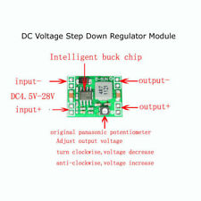 DC-DC Adjustable Buck Converter 5V 12V 3A  Voltage Step Down Regulator Module