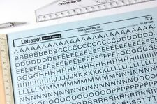 LETRASET Rub On Letter Transfers 24pt UNIVERS 53 (#373) 5.1  mm NEW