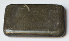 MassageMaster Oblong Black Marble Stone, 12 x 7 x 2 cm