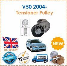 For Volvo V50 2.0D Estate 2004- Alternator Drive Fan Belt Tensioner Pulley New