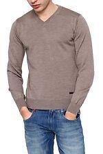 Grobe Herren-Pullover aus Baumwolle mit regular Länge