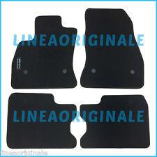 4 Tappetini ORIGINALI Fiat 500L tappeti in moquette con logo originale new ita