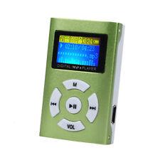 Mini USB Digital MP3 Reproductor de música Pantalla LCD metálico para 32gb