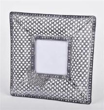 Cornici e portafoto grigia in metallo