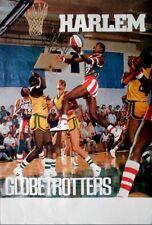 HARLEM GLOBETROTTERS - 1986 - Plakat - Basketball - Poster
