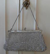 Vintage Early 1950's Rockabilly Rhinestone Diamanté Encrusted Evening Handbag