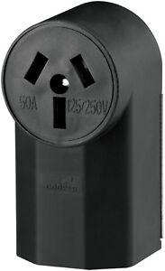 New Cooper 50 -Amp WELDER RECEPTACLE   112  125/250 Volts Power Receptacle