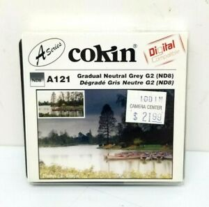 Cokin A121 Gradual Grey G2 Soft ND8 (Z121S) Filter New in Box
