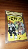 Do You Pooh, The POOHnisher, CGC 9.8 SS 2x Signed Marat & Stanley,ASM 129 Homage
