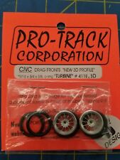 Pro Track 411E 3D Turbine O-Ring Drag Fronts from Mid America