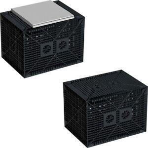 Sickerboxen -Set 560 Liter mit Vlies, regenwasserversickerung,Sickerschacht