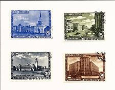 Russia 1947. Sc # 1132-1146 used ,4 Stamps Moscow Anniversary
