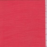 Salmon Red Stripe Gauze, Fabric By The Yard