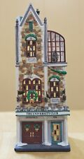 Dept 56 Christmas in the City The University Club #58945 Overall Good Condition