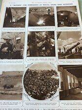 m5-1 ephemera 1943 ww2 picture maltasubmarine base hutchinson