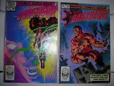 DAREDEVIL 190 191 FN- Marvel comics MILLER ELEKTRA Jan Feb 1983 modern age MORE