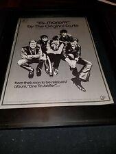 The Original Caste Mr. Monday Rare Original Promo Poster Ad Framed!