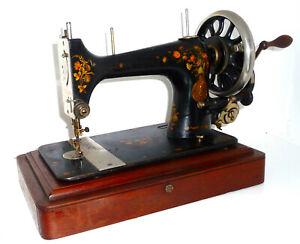Antique vintage SINGER V.S. 39-2 vibrating shuttle sewing machine SUPER RARE vtg