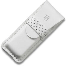 Victorinox Swiss Army White Leather Pouch for Tomo and Classic Knives 4.0762.7