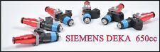 Toyota JZX100 JZX110 CRESTA 1JZGTE VVT-I  Siemens Deka 650cc Fuel Injectors