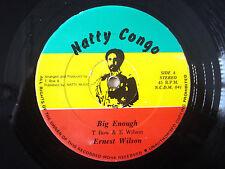 "Ernest Wilson Big Enough *MINT* Natty Congo US 12"" NM"