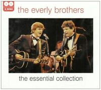 THE EVERLY BROTHERS - THE ESSENTIAL COLLECTION 28 TRK 2CD ALBUM everly brothers