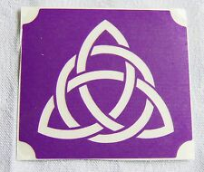 GT126 Body Art Temporary glitter Tattoo Stencil Celtic Trinity Knot Tribal