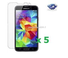 5 x Diamond Sparkle Glitter Screen Protector for Samsung Galaxy S5 / i9600