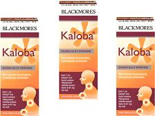 3 x 20ml Blackmores Kaloba 60ml ( for acute bronchitis & sinusitis ) FREE POST