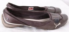 Puma 303388 Patent Athletic Sport Lifestyle Driving Ballet Flats Women's US 8.5